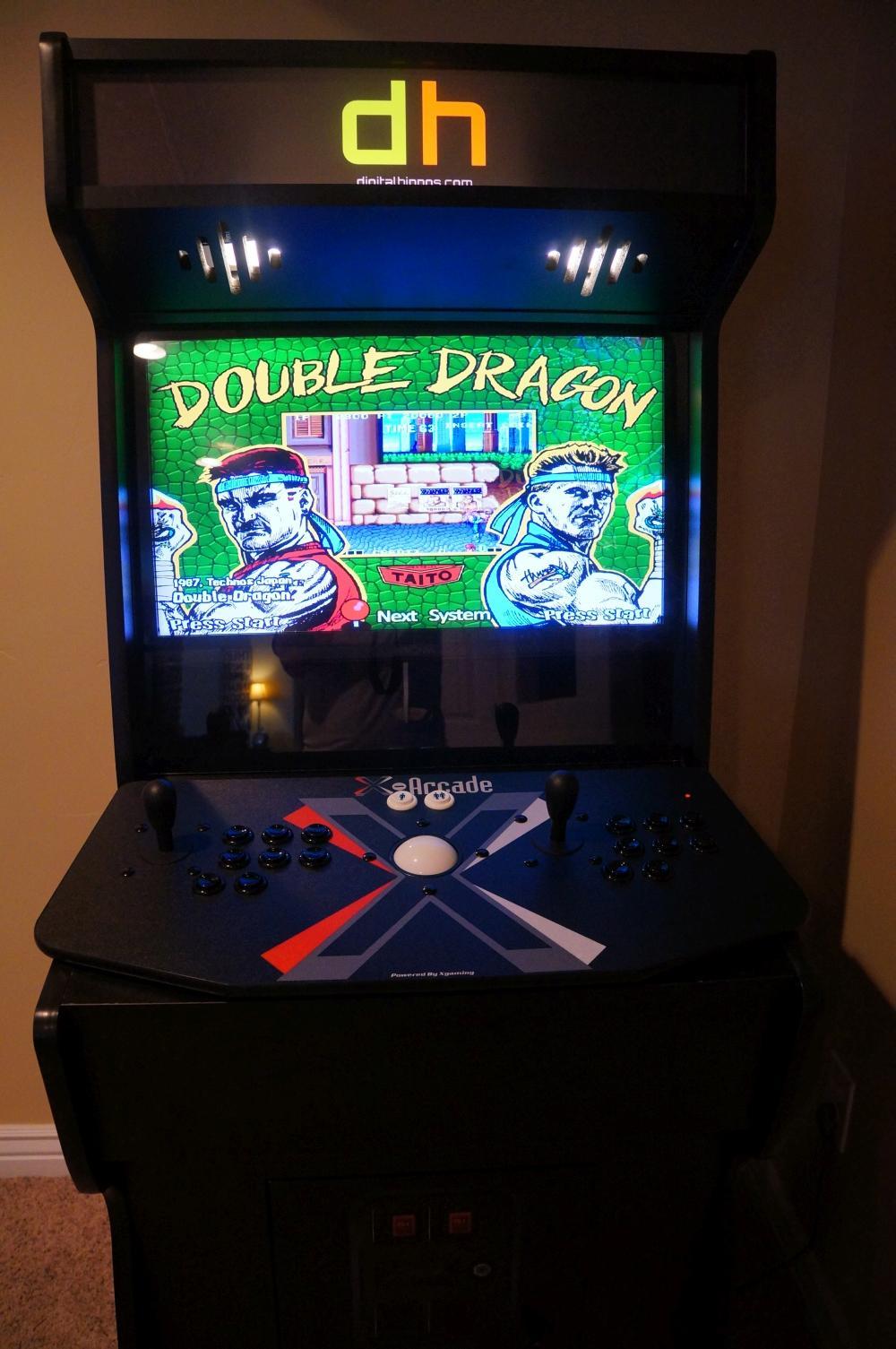 Spotlight: The Digital Hippos Custom Arcade Cabinet   Digital Hippos