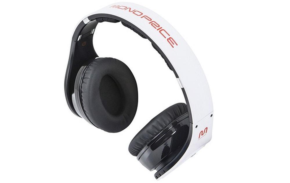 review monoprice bluetooth hi fi over the ear headphones. Black Bedroom Furniture Sets. Home Design Ideas